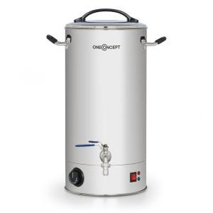 Braufreund 18 maischeketel drankenautomaat 18 ltr 30-110°C rvs 18 Ltr