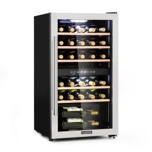 Vinamour 29D viinijääkaappi 2 aluetta 80l/29 pullolle 5–22 °C touch 29 pullot | 2 jäähdytysvyöhykettä