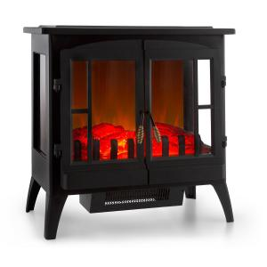 Innsbruck Electric Fireplace 1000 / 2000W Thermostat Black Black