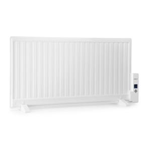 Wallander Oil Radiator 1000W Thermostat Oil Heater Ultra Flat White White | 1000 W