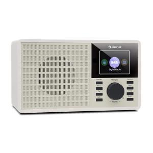 """DR-160 BT Radio DAB+/FM USB AUX  2.4"""" wyświetlacz TFT pilot zdalnego sterowania kolor biały Biały"""