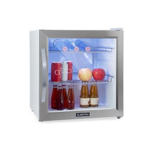 Beersafe L Crystal White Refrigerator A + LED 2 Metal Grids Glass Door White