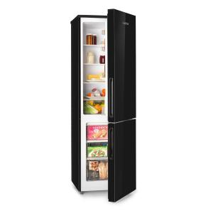 Luminance XL Combinazione frigo-congelatore 177/74 l A+ vetro frontale nero