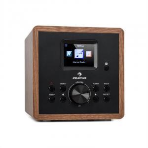 Radio Gaga 2.0 radio internetowe DAB+ wi-fi FM Bluetooth AUX In imitacja drewna  Wygląd drewna