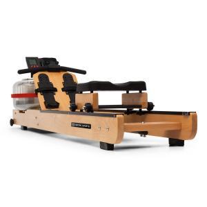 Stoksman 2.0 Water Rowing Machine 120cm LCD Display Light Beech Light beech