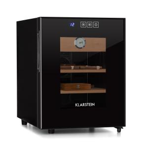 El Presidente 33 Humidor 50 W Touch Beech Wood 33L LED Black Black | 33 Ltr