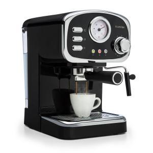 Espressionata Gusto espressokeitin 1100 W 15 bar paine musta