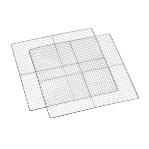 Master Jerky Dehydrator Accessories Replacement 2 Pieces 40x40 cm Stainless Steel