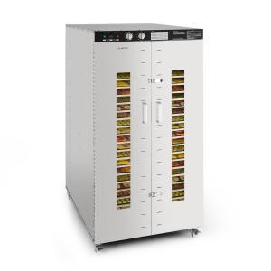 Master Jerky 24 voedseldroger 4500W 40-90 °C 15h-timer rvs zilver 24_stages