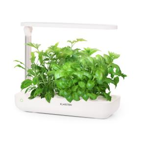 GrowIt Flex Jardin hydroponique 9 plantes 18W 110x LED réservoir 2L 9 plantes