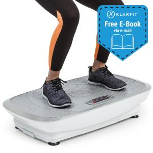 Vibe 3DX Vibration Plate, 2 x 250 W, 3 Modes, 3DX DualMotor, White White | VIBE 3DX