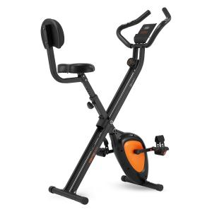 X-Bike XBK700 Pro Bicycle Exercise Bike Ergometer Heart Rate Monitor Foldable orange Orange