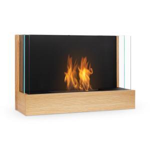 Phantasma Assemble cheminée à l'éthanol brûleur inox imitation bois