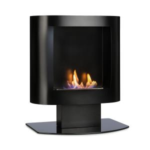 Phantasma Tower Ethanol Fireplace Safety Burner Extinguishing Aid Black Black