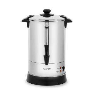 Excelsa Round Filter Coffee Machine, 30 Cups, Tap, Stainless Steel