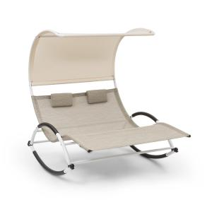 Brentwood Double Rocker Swing Lounger Waveform