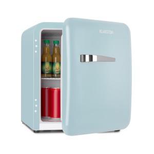 Audrey Mini réfrigérateur 48L 2 clayettes classe A+ look rétro bleu Bleu