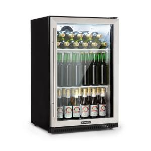 Beersafe Pro Refrigerator 133 L Glass Door 2 Shelves Black