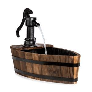 Starnberg lähde 12w pumppu valurauta puu ruskea