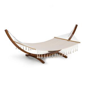 Bali TAS Swing -riippumatto lehtikuusi max. 160 kg kerma tupsut Kerma tutilla
