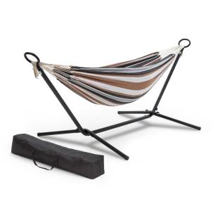 Sri Lanka Swing Hammock Steel Frame 160 kg max. Striped