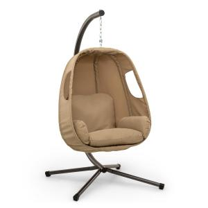 Bella Donna Hanging Chair Seat Cushion 180g Polyester Beige Beige