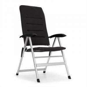Almagro Garden Chair Aluminium Foam Pad Black