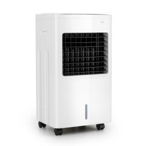 Freeze Me 3-in-1 Luftkühler Ventilator Luftbefeuchter | 75 W | 400 m³/h | 8 Liter | 3 Geschwindigkeiten | Sensor-Touch-Display | Oszillation | 4 Kühlakkus | Fernbedienung | mobil
