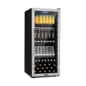 Beersafe 7XL Beverage Cooler 242L A + Glass Stainless Steel 242 Ltr