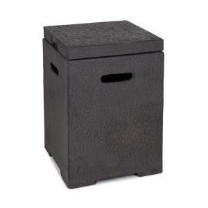Gas Garage Aufbewahrungs-Box für Gasbehälter bis 8 kg dunkelgrau