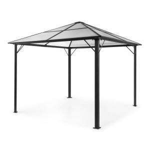 Pantheon Solid Sky Pavilion with Roof 3x3m Polycarbonate Aluminium