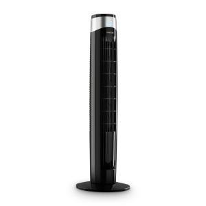 Storm Tower ventilator 3 soorten wind 55W 6 snelheden zwart Zwart