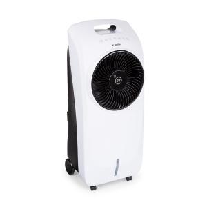 Rotator 4-in-1 Luftkühler Ventilator Luftbefeuchter Luftreiniger 396 m³/h | 110 Watt | Tank: 7 Liter | 3 Windstärken | 360°Oszillation | Ionisator | Timer | Fernbedienung |  mobil Weiß