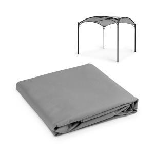 Castello Pavilion Sun Canopy 3.5x3.5m Polyester Grey Grey