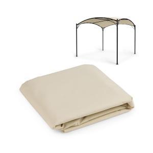 Castello Pavilion Sun Canopy 3.5x3.5m Polyester Beige Beige