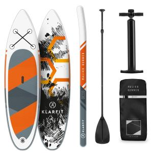 Maliko Runner planche de paddle gonflable Set SUP-Board 3,05 m - orange Orange