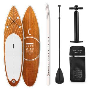 Downwind Cruiser Planche de paddle gonflable Set SUP-Board 3,05m - blanc