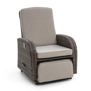Comfort Siesta Luxury Chair Adjustable Backrest Dark Grey Dark grey