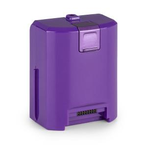 cleanFree Batteria Ioni di Litio per Aspirapolvere 22,2 V/2200 mA/h viola Viola