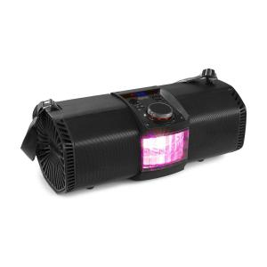 "MDJ150 Party Station 200W 2x5.25"" Bluetooth Battery Remote Control Black"