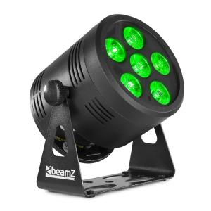 Professional BBP66 Uplight PAR LED Spotlight 6x 4in1 RGBW LEDs Black