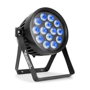 Professional BWA 520 Aluminium IP65 LED Par 14x 18W 6in1 LEDs Black