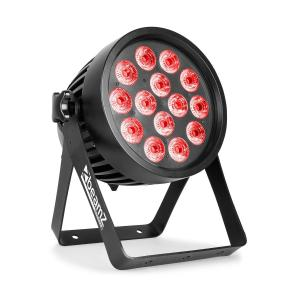 Professional BWA 510 Aluminium IP65 LED Par 14x 15W 4in1 LEDs RGBW Black