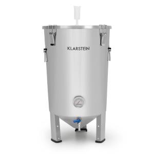Gärkeller Fermenting Kettle 30 l Fermenting Tube Thermometer 304 Stainless Steel Without_yeast_drain_valve