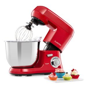 Bella Robusta metaal keukenmachine 1.200 W 6 standen 5,5 liter rood Rood