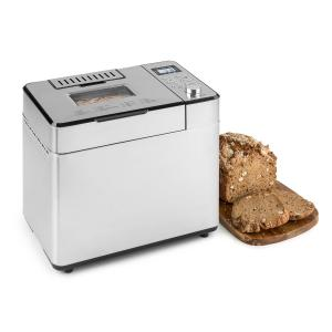 Brotilde Family Bread Maker 14 Programs LCD Display Stainless Steel