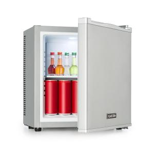 Secret Cool Mini-Fridge Mini-Bar 13l Class A + 0dB Silver Silver