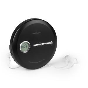 CDC 100 BT kannettava CD-soitin bluetooth-toiminto LCD ASP 2 x 1,5 V musta musta