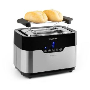Arabica toaster 920 Watt leddisplay touchpaneel rvs