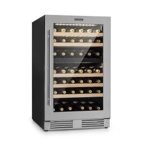 Vinovilla Duo79 Frigo per Vini a 2 Zone 189l 79 Bottiglie Porta in Vetro 3 Strati